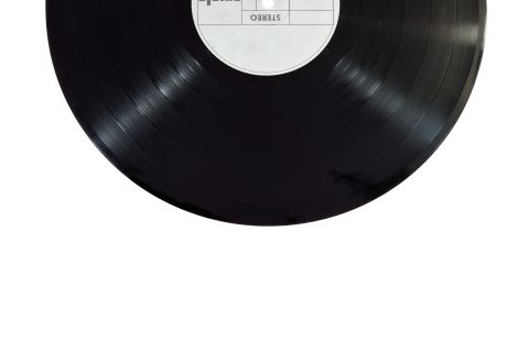 Bild på en LP